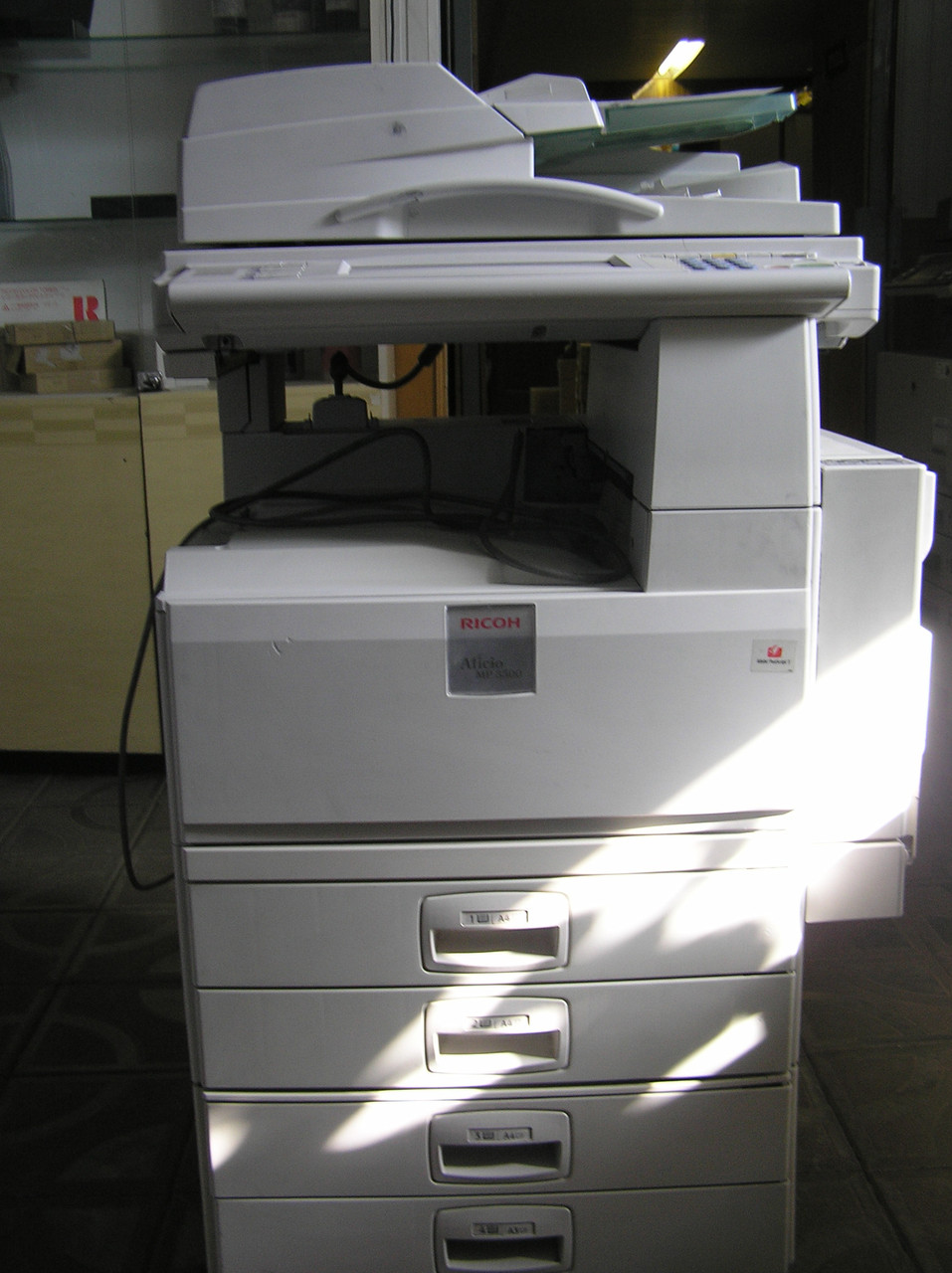 Ricoh mp 3500