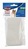 Прокладки гигиенические Trixie Pads for Protective Pants для собак M, 10 шт