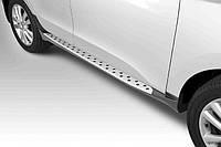 Боковые пороги Hyundai IX35 2010- стиль BMW