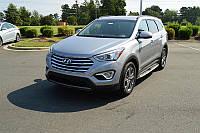 Боковые пороги Hyundai Santa Fe 2012-
