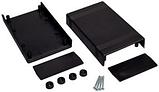 Корпус пластиковий Z50 ABS (43.25x92.5x147.6мм, матеріал ABS пластик, колір _x000D_ чорний), фото 3