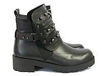 Модные женские ботинки черного цвета Fabio Monelli