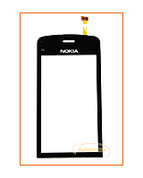 Сенсор (тачскрин) Nokia C5-03 Black Original