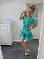 """Модное спортивное платье с кармашком """"Deva"""" 2P/NS 2008"""
