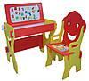 Детская парта со стульчиком и магнитной доской Bambi W 002