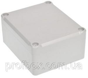 Корпус пластиковий Z-54 J PS, сірий (41x74.5x89.4)
