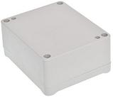 Корпус пластиковий Z-54 J PS, сірий (41x74.5x89.4), фото 2