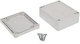 Корпус пластиковий Z-54 J PS, сірий (41x74.5x89.4), фото 3