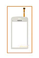 Сенсор (тачскрин) Nokia C5-03 White Original