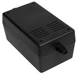 Корпус пластиковий Z-66 ABS, чорний (65,7х78,8х132), фото 2