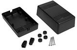 Корпус пластиковий Z-66 ABS, чорний (65,7х78,8х132), фото 3