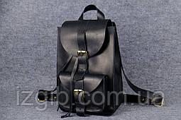 Рюкзак из натуральной кожи  11910  Черный