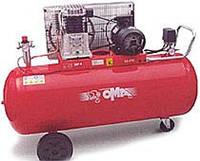 Компрессор поршневой с ременным приводом двухступенчатый CT 4/540/200 (OMA, Италия)