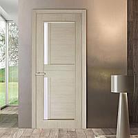 Двери межкомнатные Амелия полотно остекленное сосна карелия