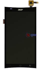 Дисплейный модуль Acer E700 черный