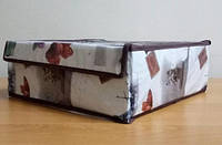 Органайзер для белья 16 секций, с прозрачной крышкой