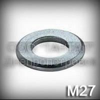 Шайба 27 ГОСТ 9065-75 для фланцевых соединений высокопрочная, сталь 45