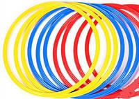 Кольца тренировочные C-4602-40 (пластик, d-40см, в комплекте 12шт.)