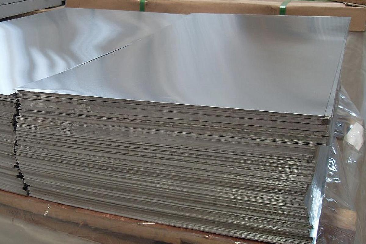 Лист алюминиевый 4.0 мм 5083 Н111 аналог АМГ5М