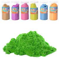 Цветной песок для творчества MK 1272-1, 7 цветов