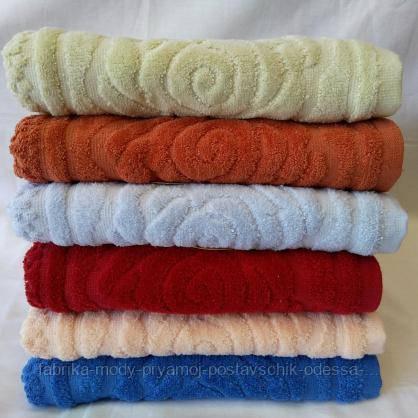 Махровые  полотенца для лица 100Х050