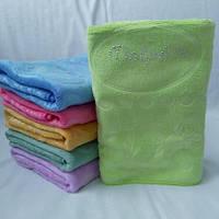 Яркое качественное полотенце с микрофибры . Размер 1,0*0,5