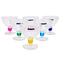 Набор креманок Rainbow 6 шт по 300 мл Luminarc J5987