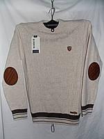 Мужской свитер Турция латки