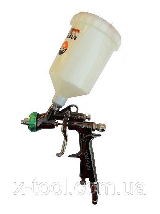 Краскопульт пневматический (1.0 мм) Air Pro AM5008 HVLP WB PLUS -1.0 (Тайвань)