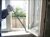 Демонтаж окон ПВХ,деревянных,алюминиевых(без сохранения)