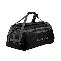 Сумка дорожная на колесах Granite Gear Wheeled Packable Duffel 100 Black/Flint