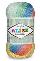 Пряжа для ручного вязания Alize Bamboo Fine Batik