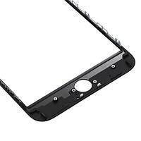 Стекло iPhone 7 Plus (5.5) айфон с рамкой, цвет черный