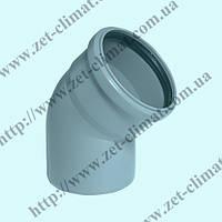 Колено 110 мм 30⁰ для внутренней канализации ППР