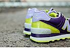 """Женские кроссовки New Balance 574 """"Candy Pack"""" (в стиле Нью Баланс 574) фиолетовые, фото 5"""