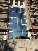 Фасады, зимние сады, алюминиевые конструкции