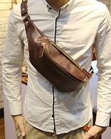 Мужская кожаная сумка. Модель 61371, фото 4