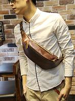 Мужская кожаная сумка. Модель 61371, фото 6