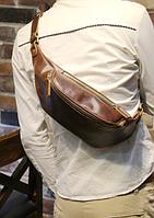 Мужская кожаная сумка. Модель 61371, фото 8
