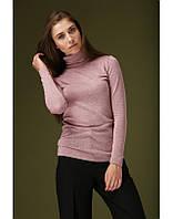 Красивый женский гольф | Розовый и сиреневый