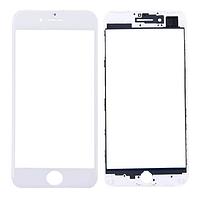 Стекло iPhone 7 (4.7) с рамкой, цвет белый