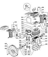 Запчасти на компрессоры ABAC B6000