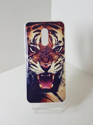 "Силиконовый чехол - бампер на  Redmi Note 4X  ""Тигр"", фото 2"