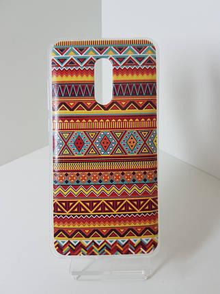 """Силиконовый чехол - бампер на Redmi Note 4X """"Орнамент 1"""", фото 2"""