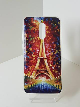 """Силиконовый чехол - бампер на Redmi Note 4X """"Париж"""", фото 2"""