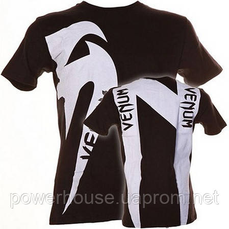 Футболка Venum Giant N - черная