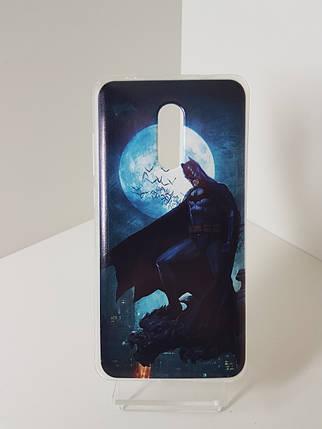 """Силиконовый чехол - бампер на Redmi Note 4X """"Бетмен"""", фото 2"""
