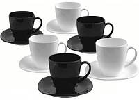 Чайный набор Carine Black&White , 12 предметов Luminarc d2371