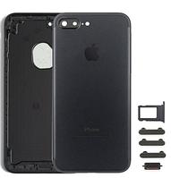 Корпус iPhone 7 Plus (5.5) айфон, цвет черный глянцевый, Jet Black