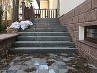 Ремонт гранитной лестницы